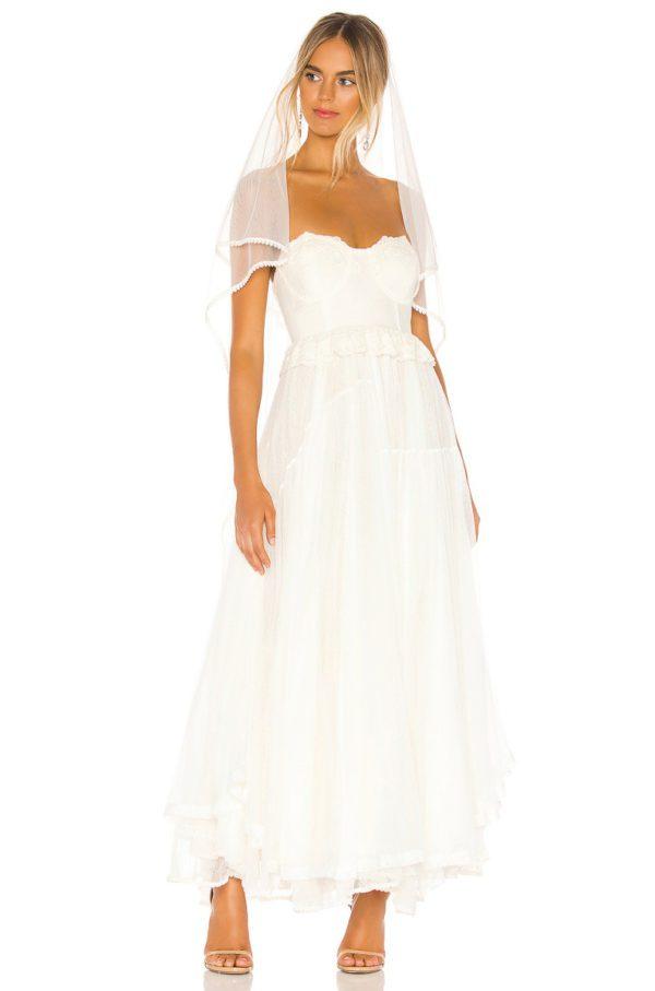 Revolve - Robe de mariée ZOE - Robe de mariée pas cher - The Wedding Explorer