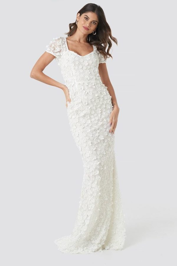 NA-KD - Gigi Dress White by Ida Sjöstedt - Robe de mariée pas cher - The Wedding Explorer