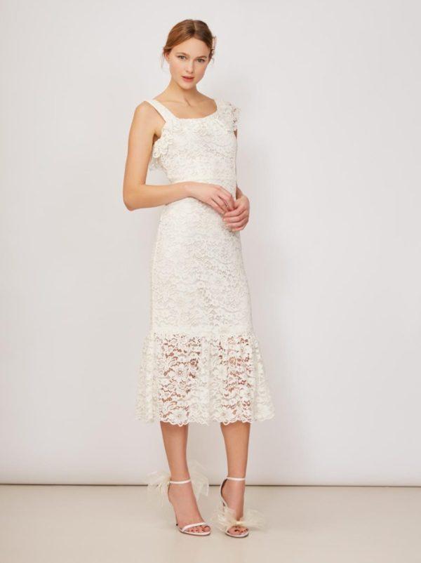KITRI - Fontana Lace Midi Dress - Robe de mariée pas cher - The Wedding Explorer