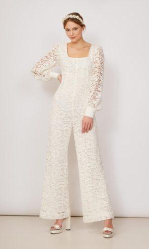KITRI - Kahlo Lace Jumpsuit - Robe de mariée pas cher - The Wedding Explorer