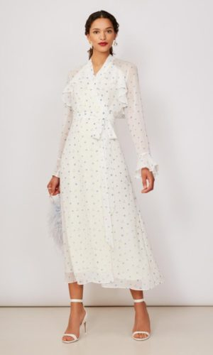 KITRI - Miller Chiffon Wrap Dress - Robe de mariée pas cher - The Wedding Explorer