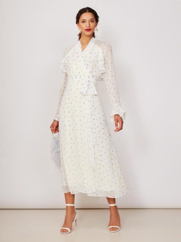 KITRI - Miller Chiffon Wrap Dress - Robe de mariée pas cher - The Wedding Explorer