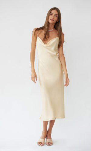 Sleeper - Robe de mariée en soie 90s - Robe de mariée pas cher - The Wedding Explorer