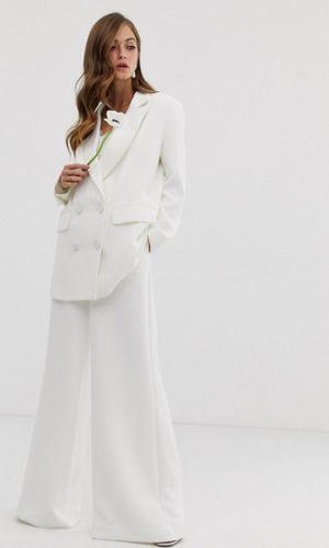 ASOS EDITION - Veste de mariage croisée - Robe de mariée pas cher - The Wedding Explorer