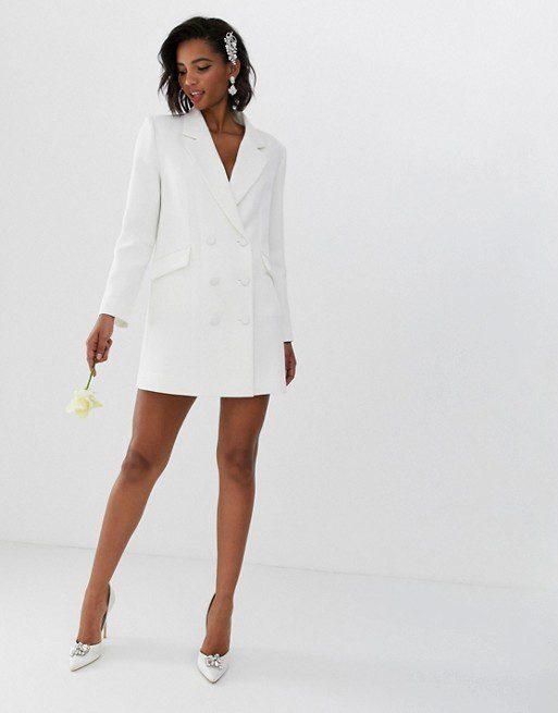 ASOS EDITION - Robe de mariage style blazer - Robe de mariée pas cher - The Wedding Explorer