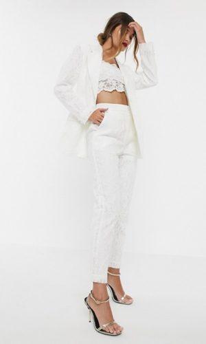 ASOS EDITION - Blazer de mariage en dentelle - Robe de mariée pas cher - The Wedding Explorer