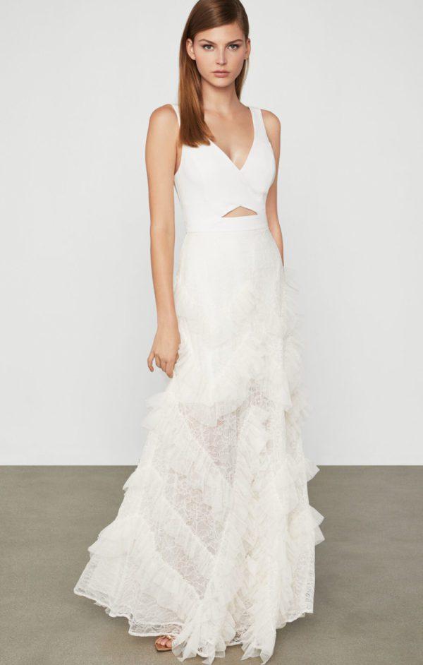 BCBG - Lace And Tulle Gown - Robe de mariée pas cher - The Wedding Explorer