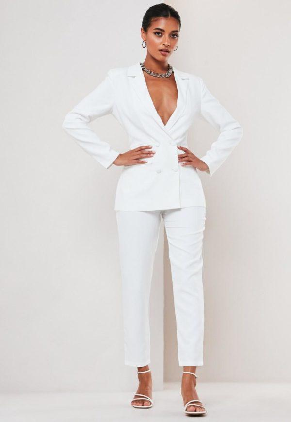 MISSGUIDED - Blazer de mariage double boutonnage - Robe de mariée pas cher - The Wedding Explorer
