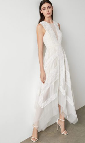 BCBG - Andi Lace Dress - Robe de mariée pas cher - The Wedding Explorer