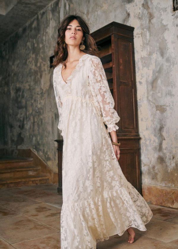 Sézane - Robe Annalisa - Robe de mariée pas cher - The Wedding Explorer