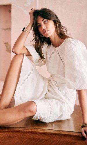 Sézane - Robe Antonella - Robe de mariée pas cher - The Wedding Explorer