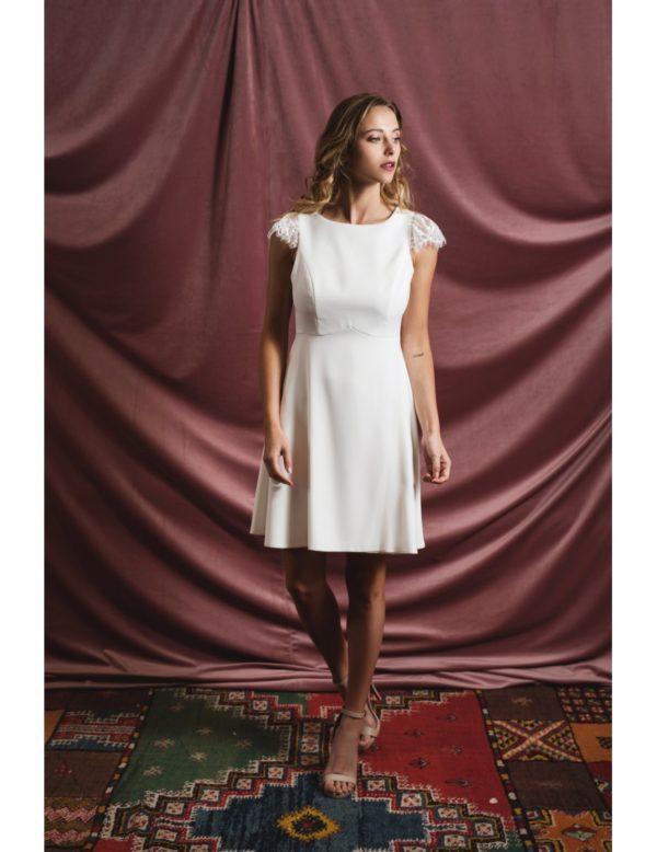 Harpe Paris - La petite robe blanche - Robe de mariée pas cher - The Wedding Explorer
