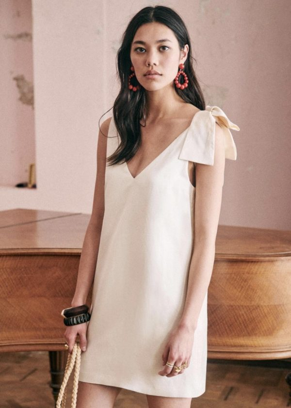 Sézane - Robe Philomena - Robe de mariée pas cher - The Wedding Explorer