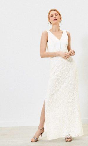 Oasis - Robe de mariée dos-nu dentelle - Robe de mariée pas cher - The Wedding Explorer
