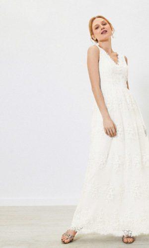 Oasis - Robe de mariée brodée - Robe de mariée pas cher - The Wedding Explorer