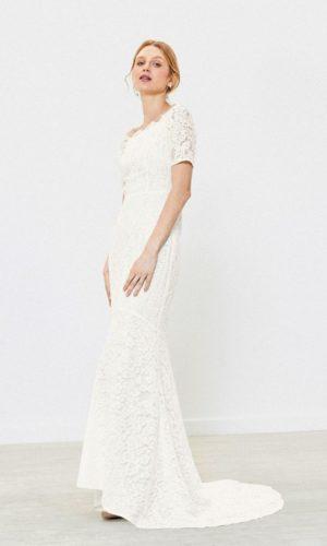 Oasis - Robe de mariée sirène dentelle - Robe de mariée pas cher - The Wedding Explorer