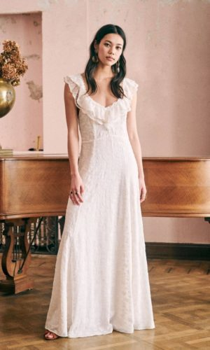 Sézane - Robe Sibel - Robe de mariée pas cher - The Wedding Explorer