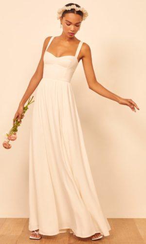 Reformation Hollyhock Wedding Dress