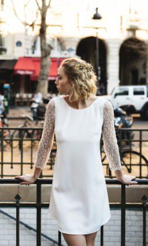 Harpe Paris - Robe Marie des Fleurs - Robe de mariée pas cher - The Wedding Explorer