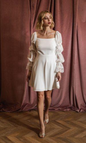 Harpe Paris - Robe Nina - Robe de mariée pas cher - The Wedding Explorer