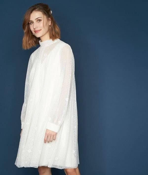 Maison 123 - Robe en dentelle Olivera - Robe de mariée pas cher - The Wedding Explorer