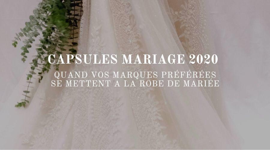 CAPSULES MARIAGE 2020