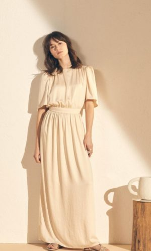 Sessùn - Robe longue Lova en satin - Robe de mariée pas cher - The Wedding Explorer