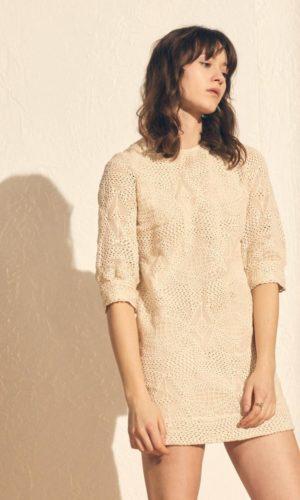 Sessùn - Robe courte en dentelle Lucy in the sky - Robe de mariée pas cher - The Wedding Explorer