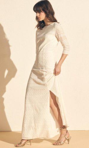 Sessùn - Robe longue Victoria en dentelle - Robe de mariée pas cher - The Wedding Explorer