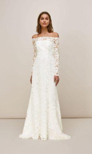 Whistles - MELBA BARDOT WEDDING DRESS - Robe de mariée pas cher - The Wedding Explorer