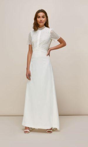 Whistles - SCARLETT WEDDING DRESS - Robe de mariée pas cher - The Wedding Explorer