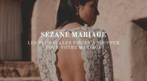 Robes de mariée Sezane Mariage